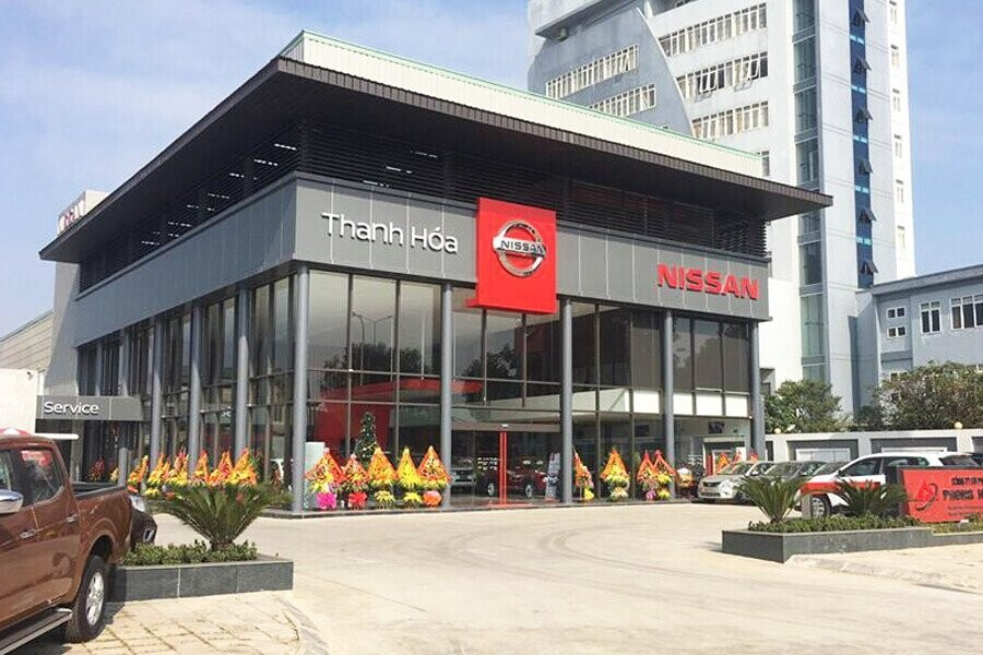 Mặt tiền Showroom Nissan Thanh Hóa