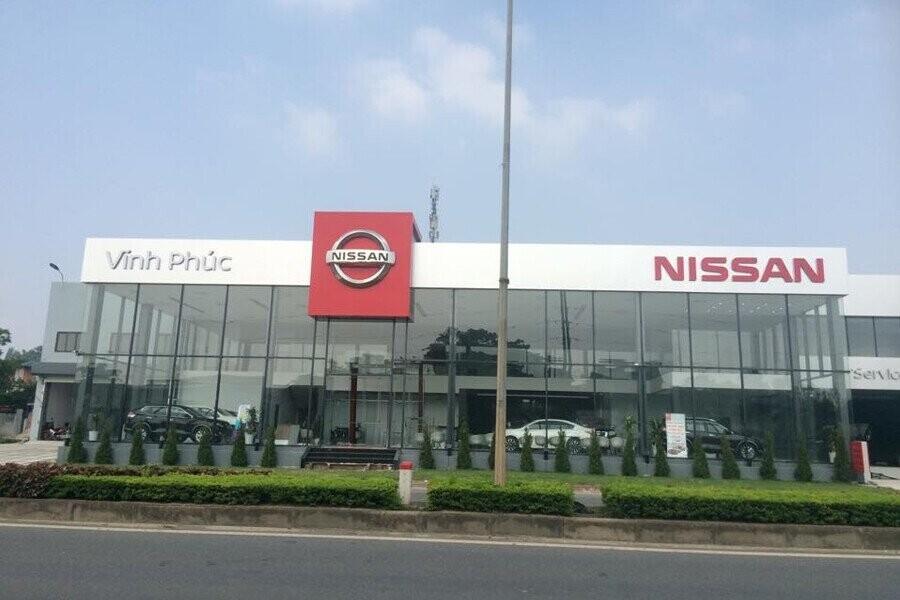 Mặt tiền Showroom Nissan Vĩnh Phúc