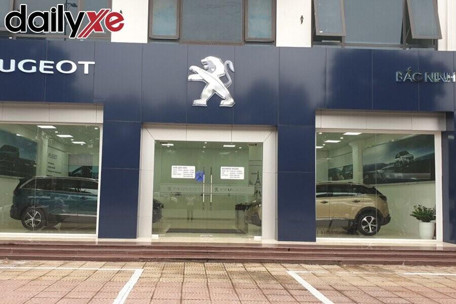 Mặt tiền Showroom Peugeot Bắc Ninh