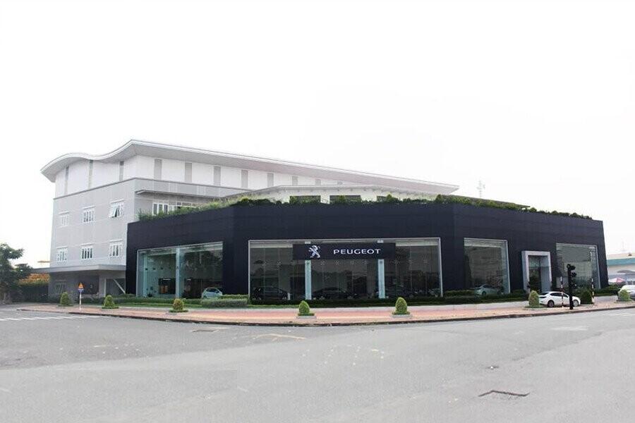 Mặt tiền Showroom Peugeot Biên Hòa