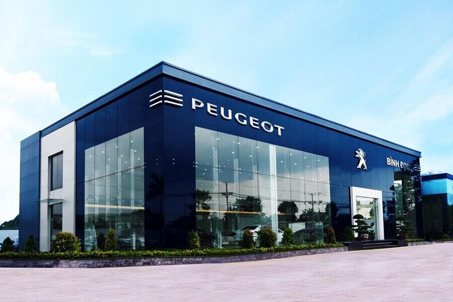 Mặt tiền Showroom Peugeot Bình Định
