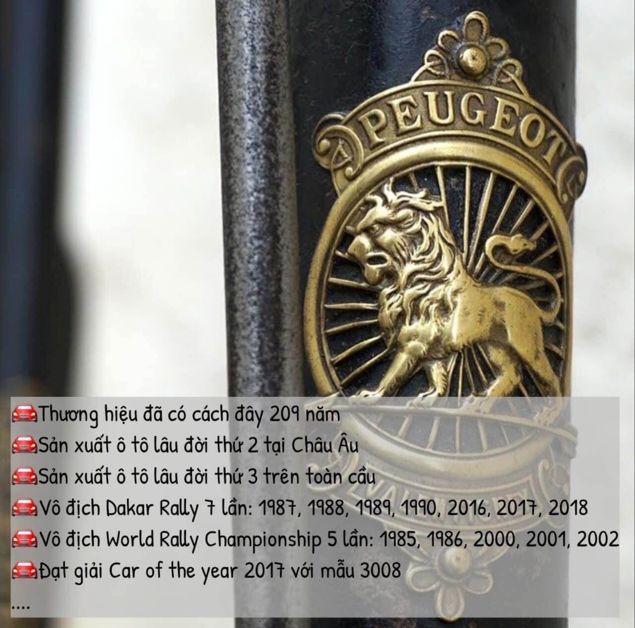 Lịch sử hãng xe Peugeot