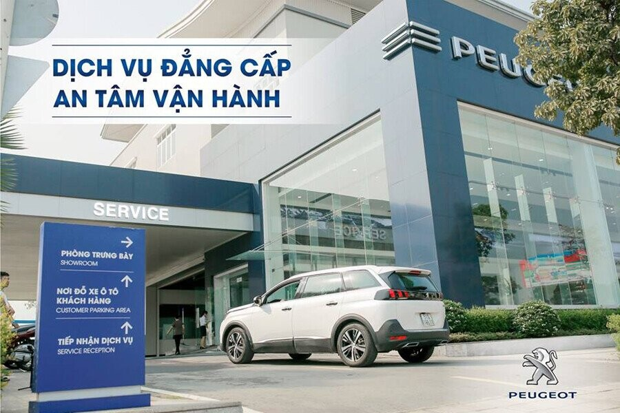 Showroom Peugeot Nha Trang