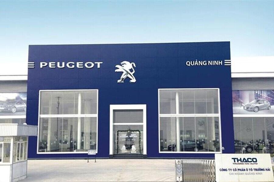Mặt tiền Showroom Peugeot Quảng Ninh