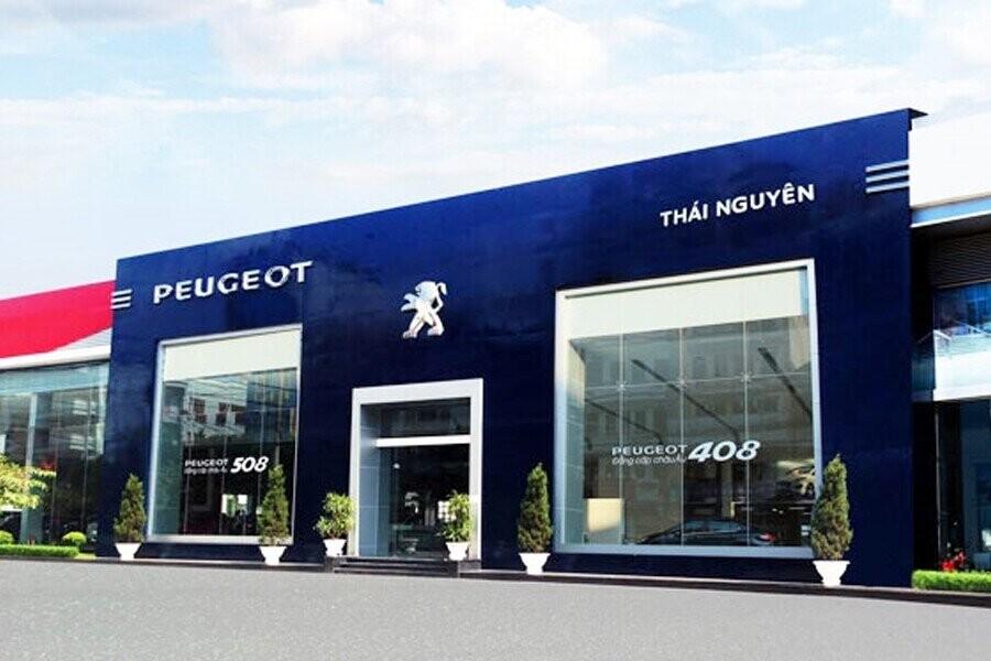 Mặt tiền Showroom Peugeot Thái Nguyên