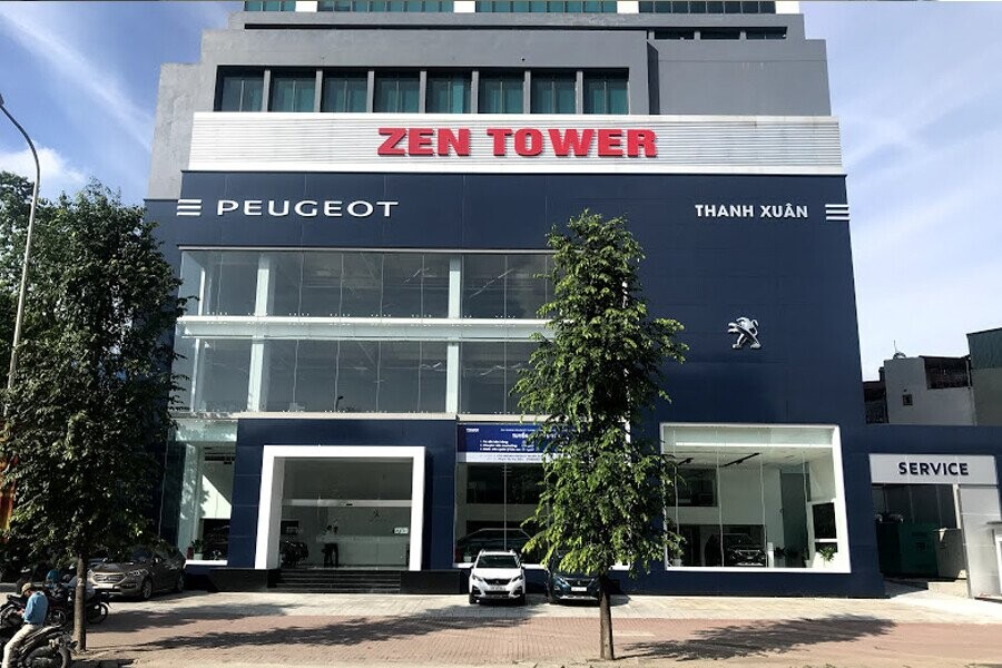 Showroom Peugeot Thanh Xuân