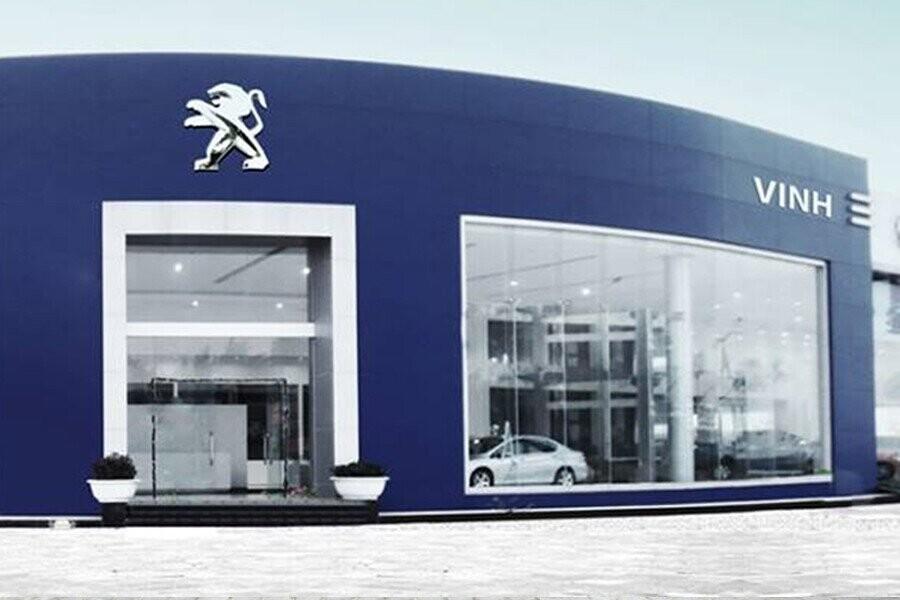 Mặt tiền Showroow Peugeot Vinh