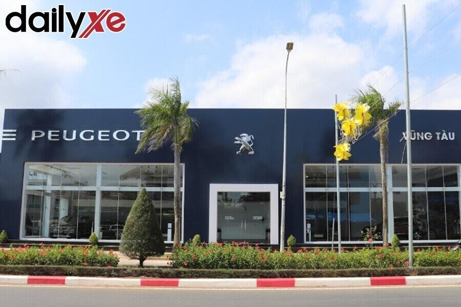 Toàn cảnh Showroom Peugeot Vũng Tàu