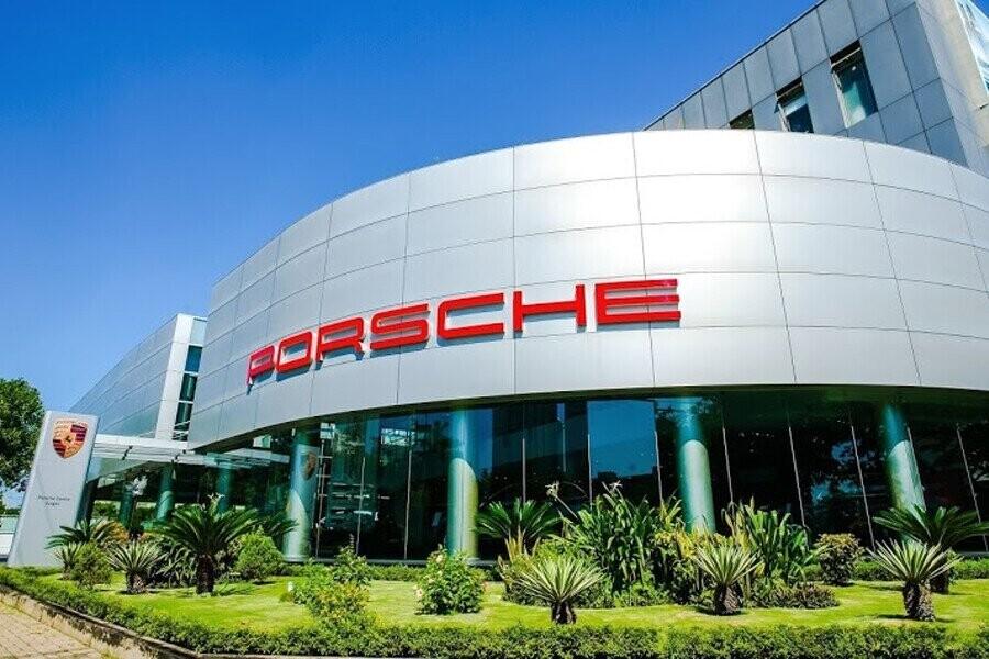 Mặt tiền Showroom Porsche Sài Gòn