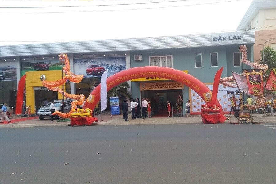 Mặt tiền Showroom Renault Đắk Lắk