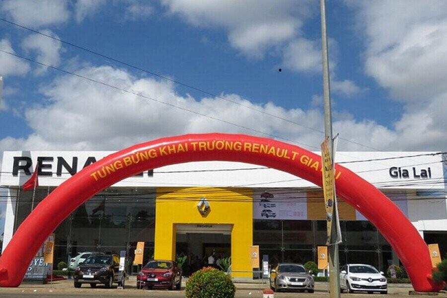 Mặt tiền Showroom Renault Gia Lai