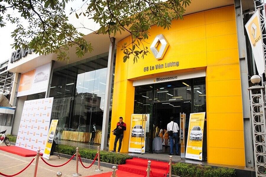 Mặt tiền Showroom Renault Hà Nội