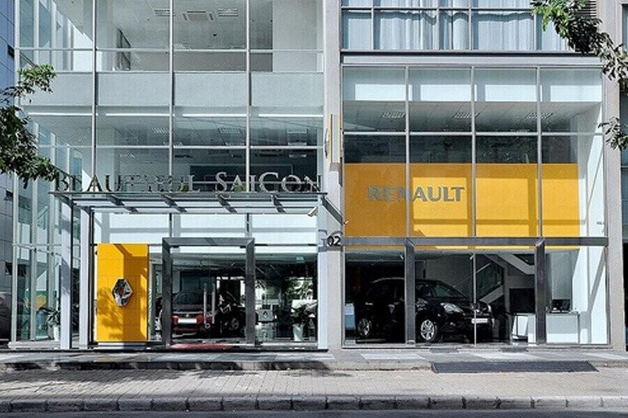 Mặt tiền Showroom Renault Phú Mỹ Hưng