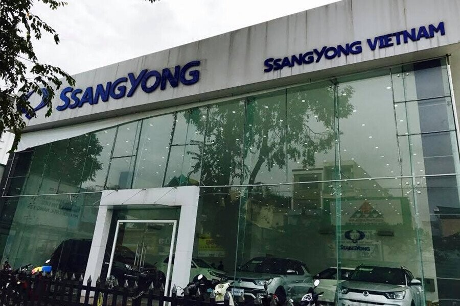 Mặt tiền Showroom SsangYong An Phú