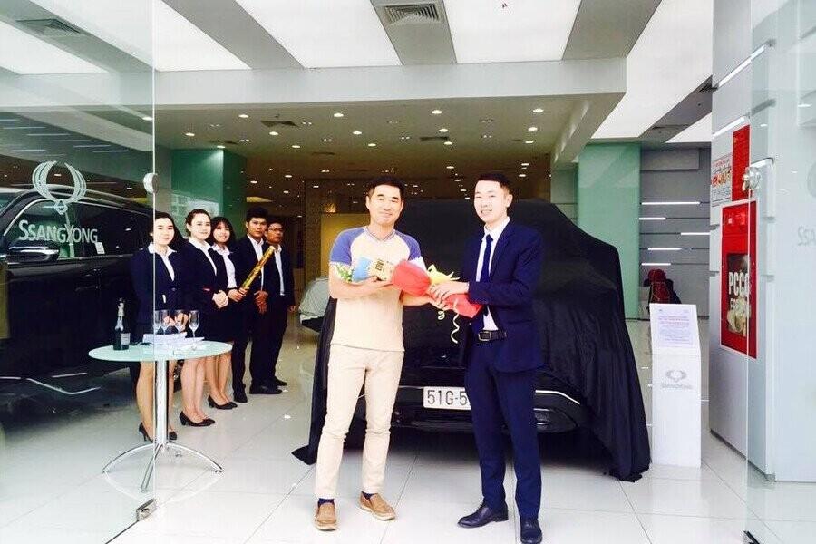 Lễ bàn giao xe SsangYong cho Khách hàng