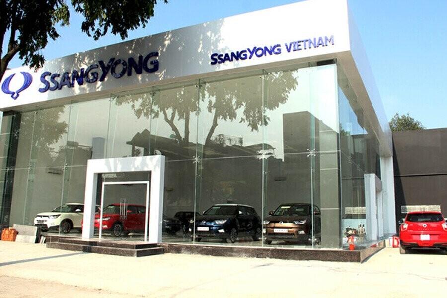 Mặt tiền Showroom SsangYong Gò Vấp