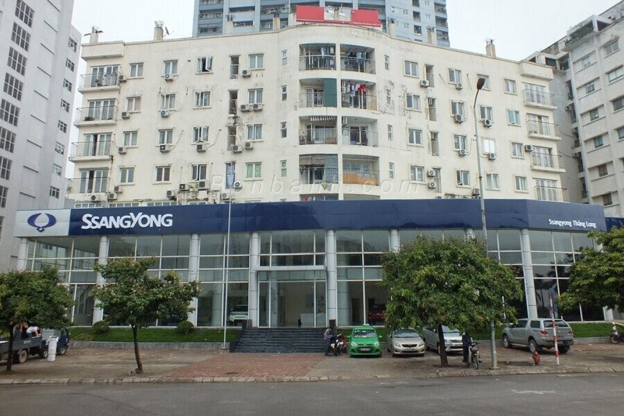 Mặt tiền Showroom SsangYong Thăng Long