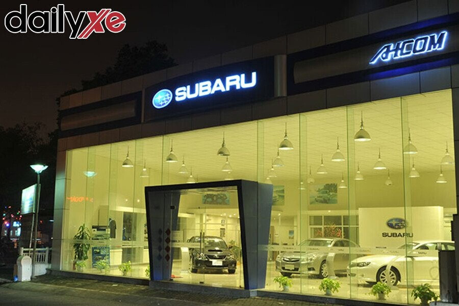 Showroom Subaru Hà Nội