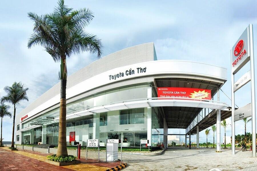 Toyota Cần Thơ - Chi nhánh Toyota An Giang
