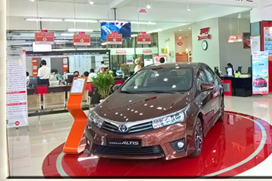 Đại Lý Toyota An Thành Quận Bình Chánh TPHCM - Hình 2