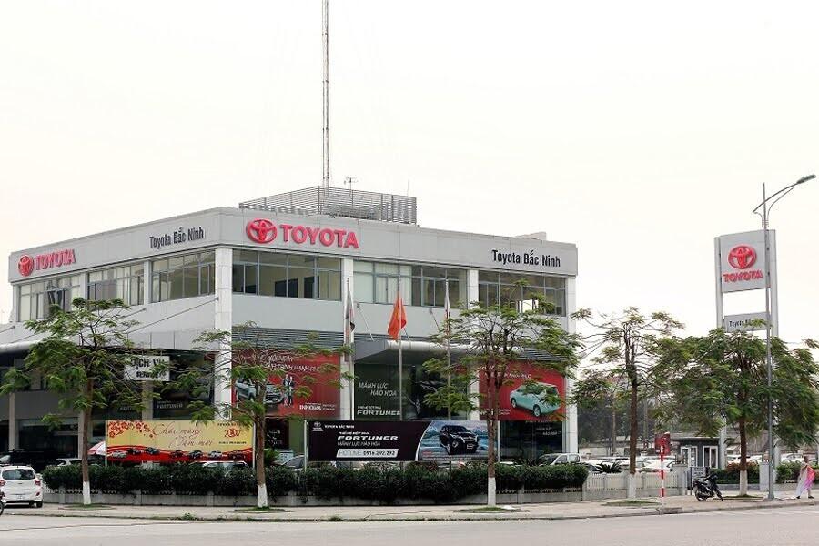 Đại Lý Toyota Bắc Ninh Phường Võ Cường Bắc Ninh - Hình 1