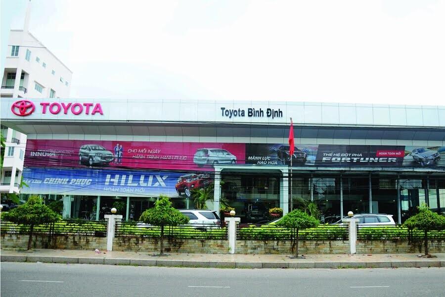 Đại Lý Toyota Bình Định TP Quy Nhơn Bình Định - Hình 1