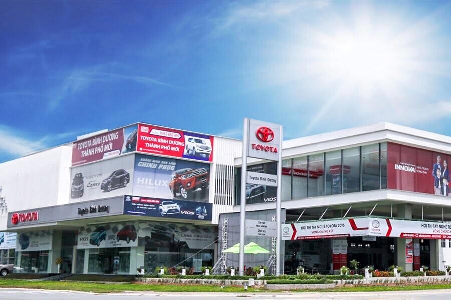 Đại Lý Toyota Bình Dương TP Thủ Dầu một Bình Dương - Hình 1