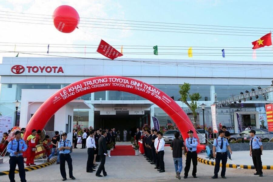 Đại Lý Toyota Bình Thuận Huyện Hàm Thuận Bắc Bình Thuận - Hình 1