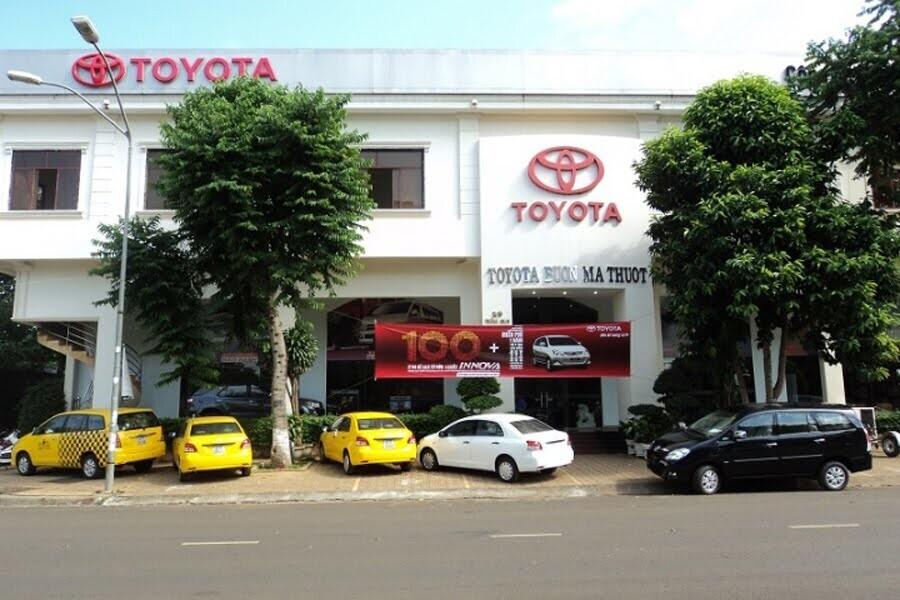 Đại Lý Toyota Buôn Ma Thuột Phường Tân Lợi Đắk Lắk - Hình 1