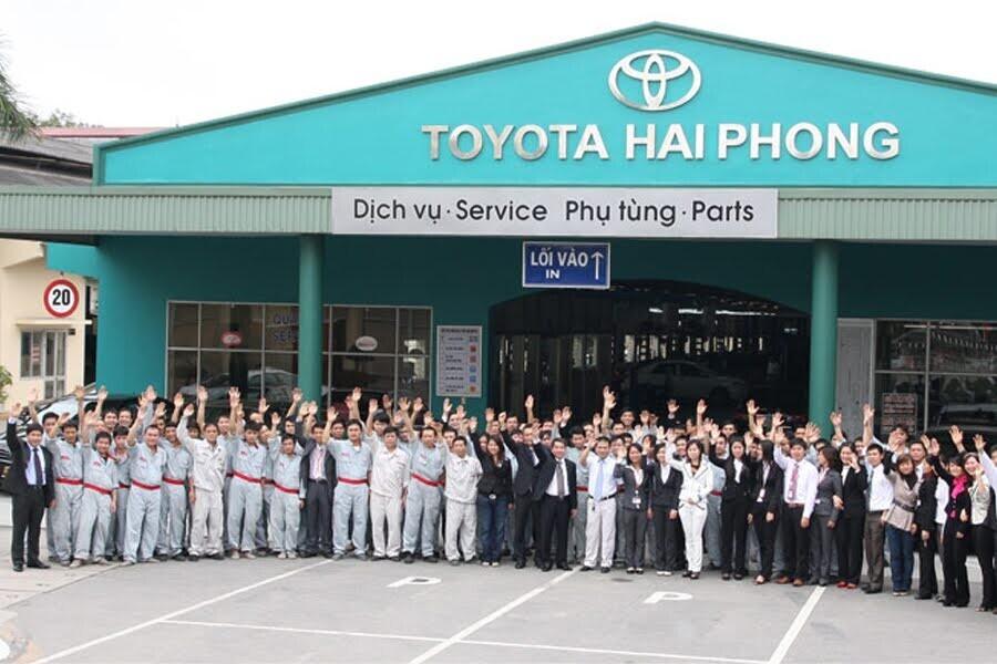 Đại Lý Toyota Hải Phòng Quận Ngô Quyền Hải Phòng - Hình 4