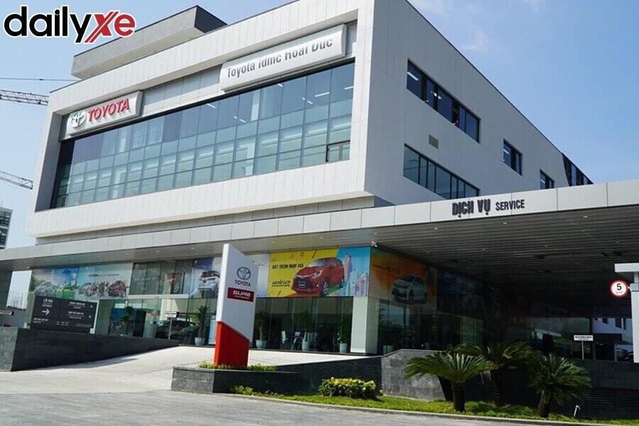 Mặt Tiền Showroom Toyota Hoài Đức