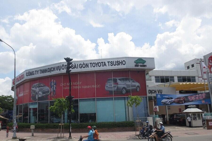 Tổng quan Showroom Toyota Hùng Vương