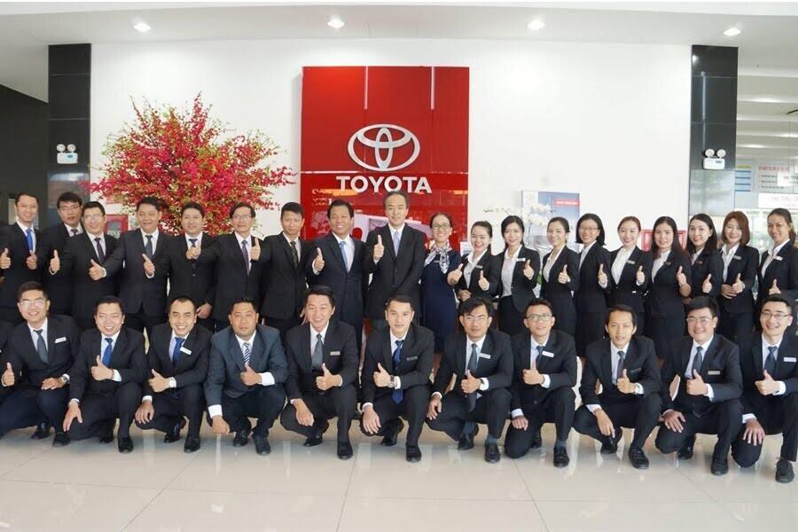 Đại Lý Toyota Hùng Vương Quận Bình Tân TPHCM - Hình 2