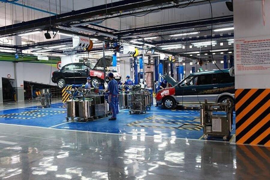 Đại Lý Toyota Hùng Vương Quận Bình Tân TPHCM - Hình 3