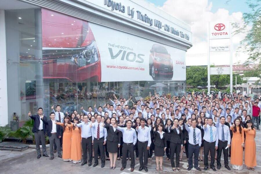 Đại Lý Toyota Lý Thường Kiệt Quận Tân Bình TPHCM - Hình 3