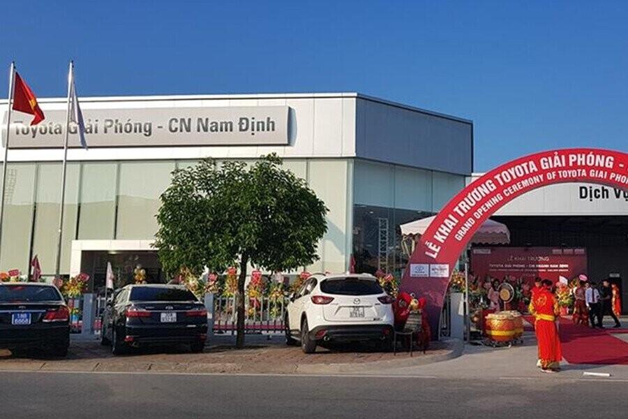 Tổng quan Showroom Toyota Nam Định