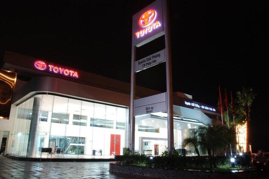 Tổng quan Showroom Toyota Pháp Vân