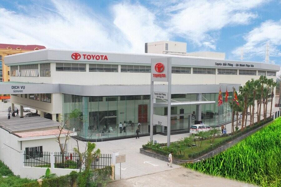 Toàn cảnh Đại lý Toyota Pháp Vân