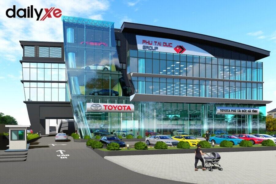 Showroom Toyota Phú Tài Đức Hà Tĩnh