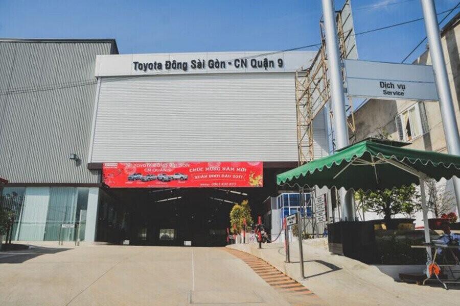 Showroom Toyota Quận 9