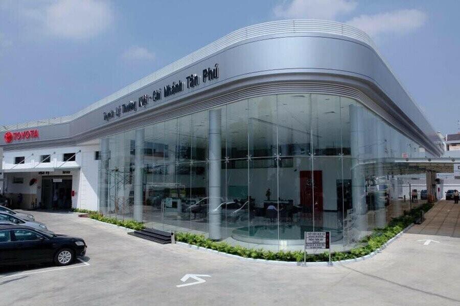 Tổng quan Showroom Toyota Quận Tân Phú