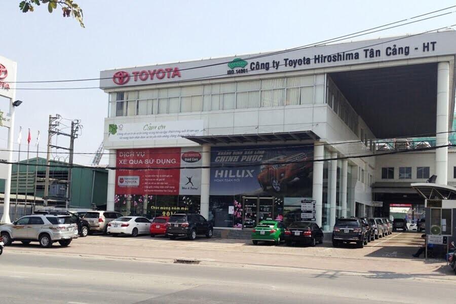 Đại Lý Toyota Tân Cảng Quận Bình Thạnh TPHCM - Hinh 1