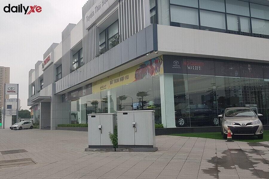 Mặt tiền Đại Lý Toyota Thái Hòa Từ Liêm