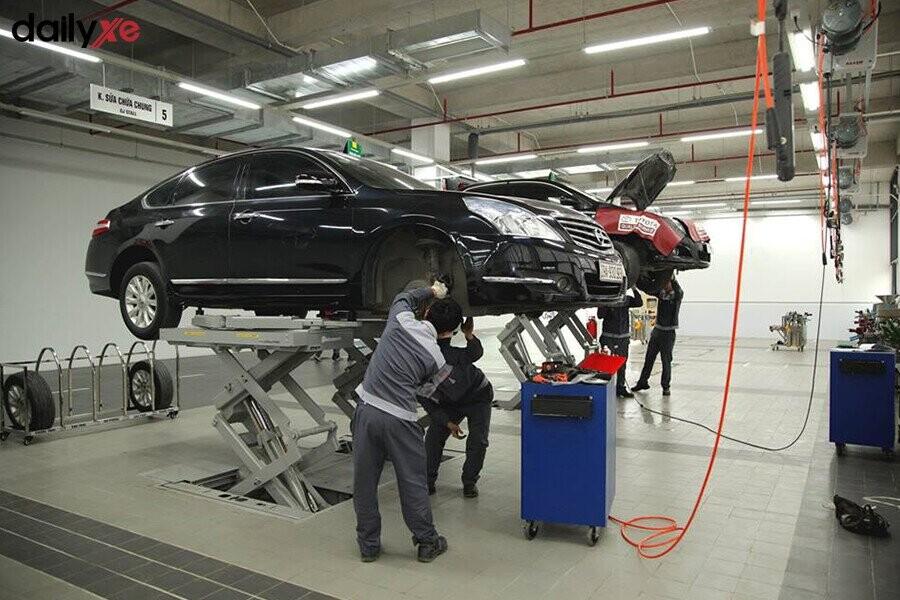 Khu vực bảo dưỡng tại Toyota Thái Hòa Từ Liêm - Hình 2