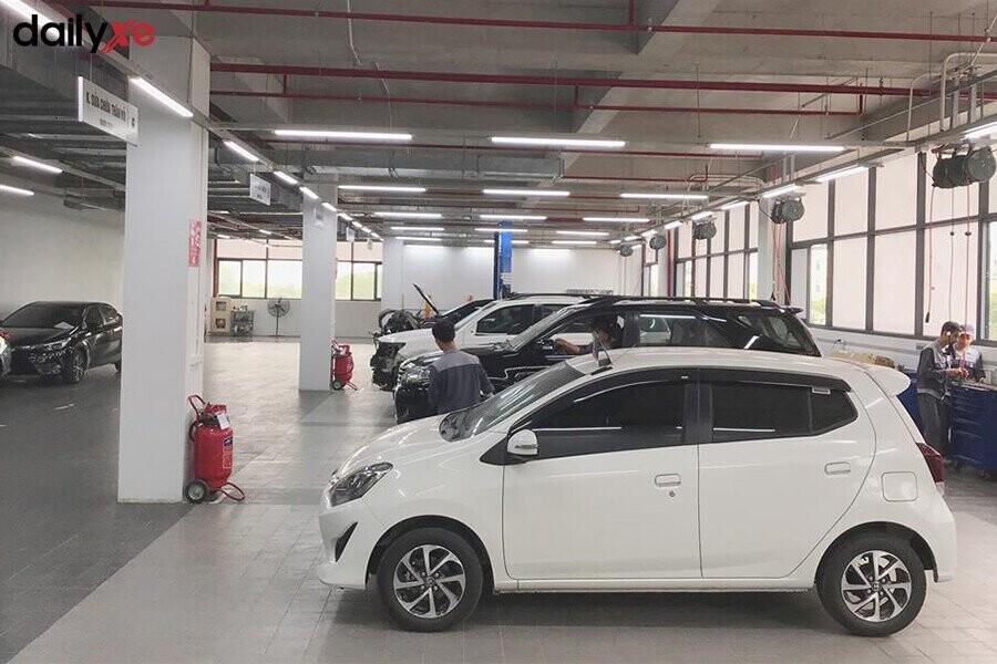 Khu vực bảo dưỡng tại Toyota Thái Hòa Từ Liêm - Hình 3