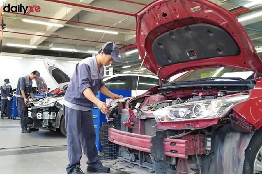 Khu vực bảo dưỡng tại Toyota Thái Hòa Từ Liêm - Hình 4