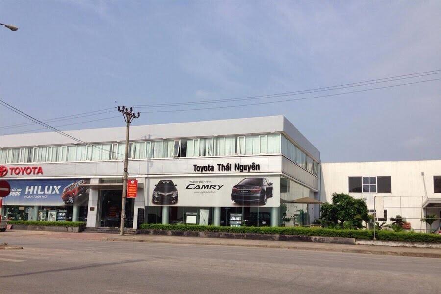 Đại Lý Toyota Thái Nguyên Phường Cam Giá TP Thái Nguyên - Hình 1