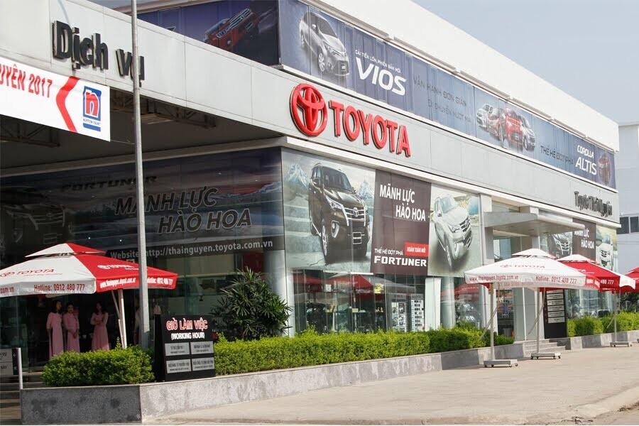 Đại Lý Toyota Thái Nguyên Phường Cam Giá TP Thái Nguyên - Hình 3