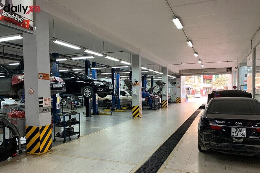 Khu vực sửa chữa Toyota Thăng Long - Hình 3