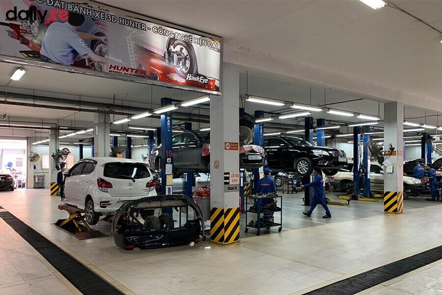 Khu vực sửa chữa Toyota Thăng Long - Hình 4